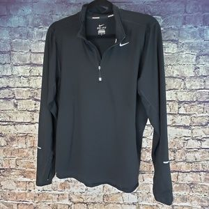 Nike Dri Fit 3/4 Zip Pullover